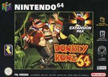 Photo de la boite de Donkey Kong 64